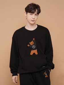 BEAR EMBROIDER MTM [BLACK]