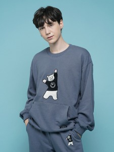BEAR EMBROIDER MTM [DARK BLUE]